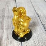 ln193 phat di lac vang 1 150x150 Phật di lạc tay cầm hồ lô nén vàng LN193