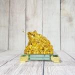 ln105 coc vang nho 2 150x150 Thiềm thừ vàng trên đống tiền đế thủy tinh LN105