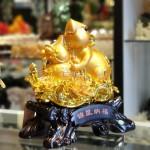 tm002 chuot vang mau don 1 150x150 Chuột vàng trên mẫu đơn ôm hồ lô TM002