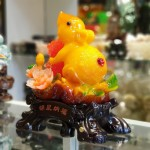 tm003 chuot cam mau don 2 150x150 Chuột ngọc cam trên mẫu đơn ôm hồ lô TM003
