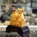 tm017 chuot vang kim sa tui tien 150x150 Chuột vàng kim sa ôm túi vàng TM017
