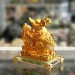 tm019 chuot vang om bap vang 2 150x150 Chuột đế thuỷ tinh ôm bắp vàng TM019