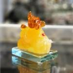 tm036 chuot vang cam ho lo 1 150x150 Chuột ngọc vàng cam đế thuỷ tinh TM036