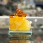 tm036 chuot vang cam ho lo 2 150x150 Chuột ngọc vàng cam đế thuỷ tinh TM036